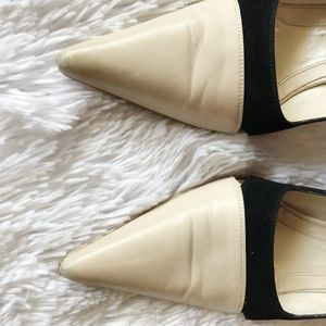 narciso rodriguez vero cuoio pointed pumps